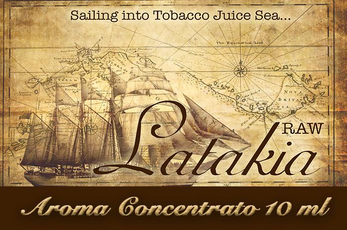 Latakia Raw – Aroma di Tabacco concentrato 10 ml by Blendfeel