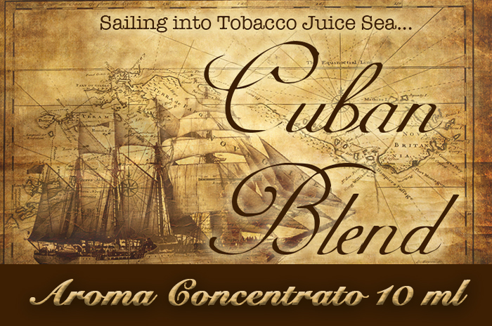 Cuban blend – Aroma di Tabacco concentrato 10 ml by Blendfeel