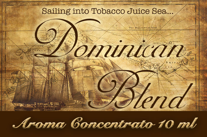 Dominican blend – Aroma di Tabacco concentrato 10 ml by Blendfeel