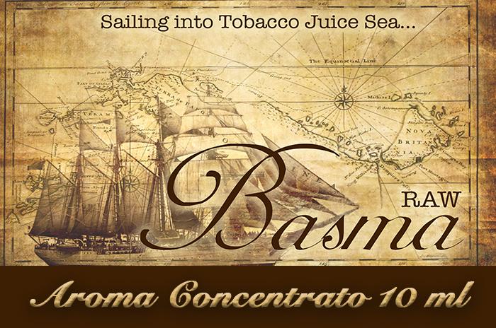 Basma Raw – Aroma di Tabacco concentrato 10 ml by Blendfeel