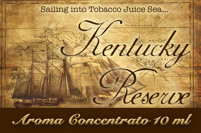 Kentucky Reserve – Aroma di Tabacco concentrato 10 ml by Blendfeel