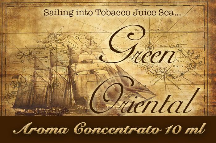 Green oriental – Aroma di Tabacco concentrato 10 m by Blendfeel