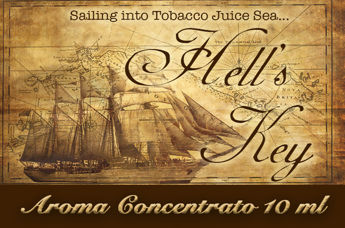Hell's key – Aroma di Tabacco concentrato 10 ml by Blendfeel