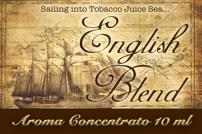 English blend – Aroma di Tabacco concentrato 10 ml by Blendfeel