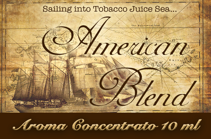 American blend – Aroma di Tabacco concentrato 10 ml by Blendfeel