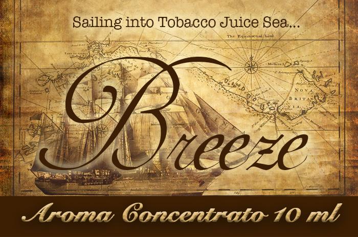 Breeze – Aroma di Tabacco concentrato 10 ml by Blendfeel