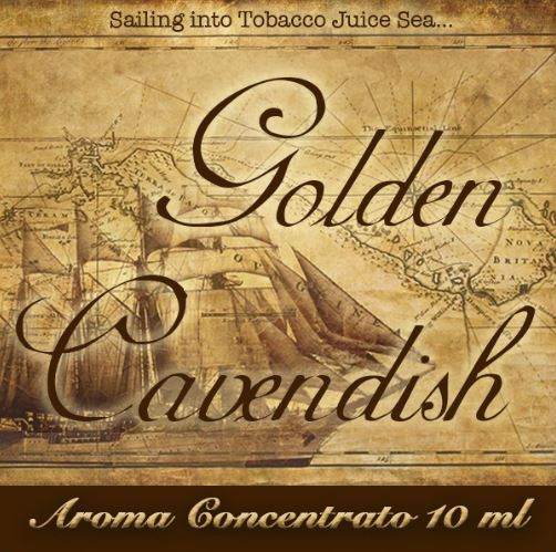 Golden Cavendish – Aroma di Tabacco concentrato 10 ml by Blendfeel