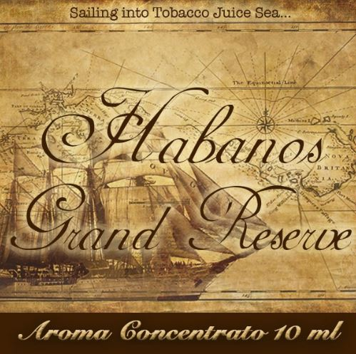 Habanos Grand Reserve – Aroma di Tabacco concentrato 10 ml by Blendfeel
