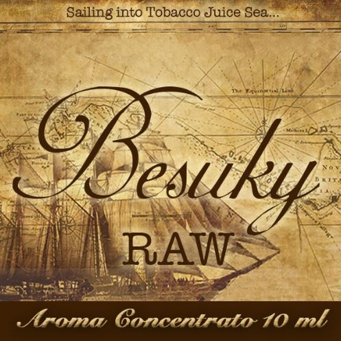 Besuky Raw – Aroma di Tabacco concentrato 10 ml by Blendfeel