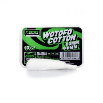 Cotone pretagliato con inserimento rapido 6mm - Wotofo