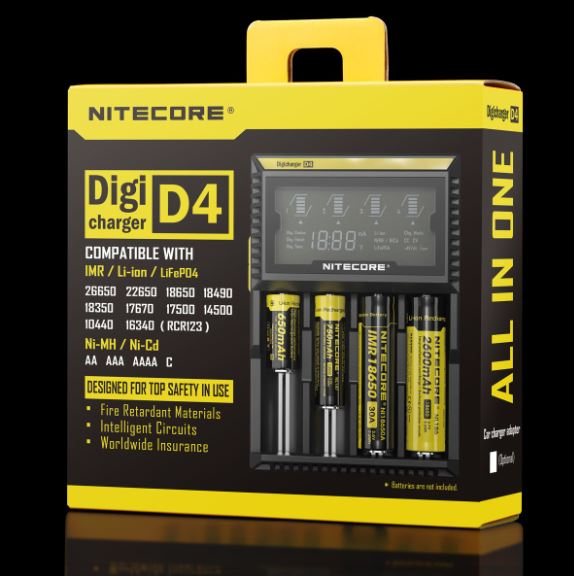 D4 charger - Nitecore