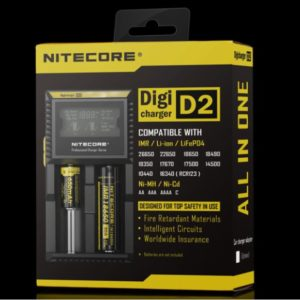 D2 charger - Nitecore