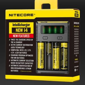 NEW I4 INTELLICHARGER NITECORE