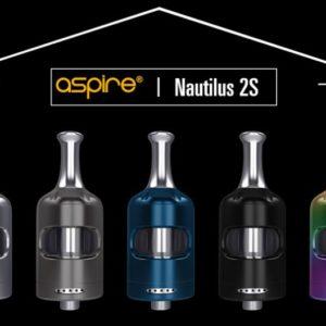Nautilus 2S - Aspire colore Stainless steel