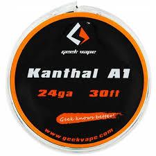 KANTHAL A1 TAPE WIRE 24GA - geekvape