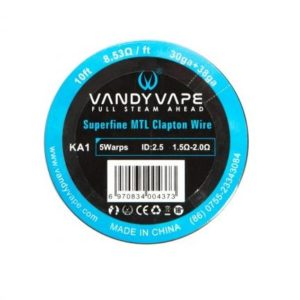 KA1 SUPERFINE MTL CLAPTON WIRE - VANDY VAPE WIRE