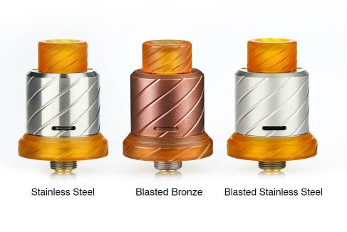 BOOMSTICK ENGINEERING - REAPER 18MM MTL RDA - COLORE Blasted Bronze