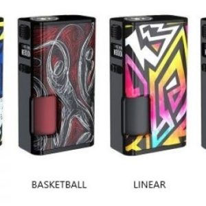 LYRA 200W BOX MOD by MODEFINED colore Amber&Black