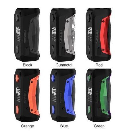 Box Aegis Solo 18650 - GeekVape colore Orange