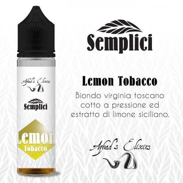 Aroma Concentrato Azhad's Semplici - Lemon Tobacco 20ml Grande Formato