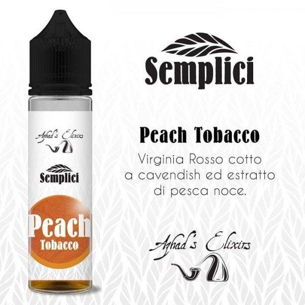 Aroma Concentrato Azhad's Semplici - Peach Tobacco 20ml Grande Formato