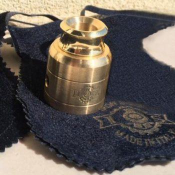 Iron Steam Cap And Drip Brass Mat