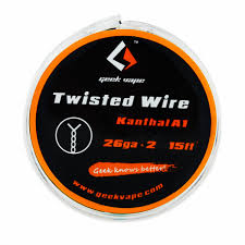 GEEKVAPE TWISTED ATOMIZER DIY KANTHAL DOUBLE KA1 TAPE WIRE (26GA * 2)