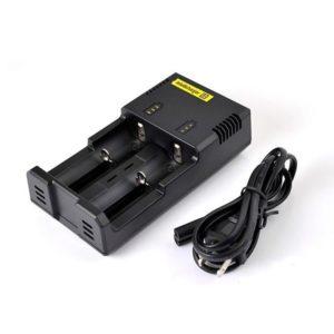 Carica batterie Nitecore i2 - 2 slot