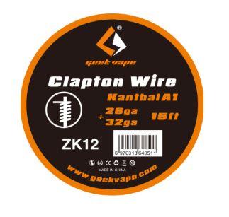 Geek Vape - Clapton Wire KanthalA1 26+32ga 15ft