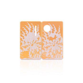 Coppia di Sportellini Chrysanthemum per dotAIO - dotMod colore gold