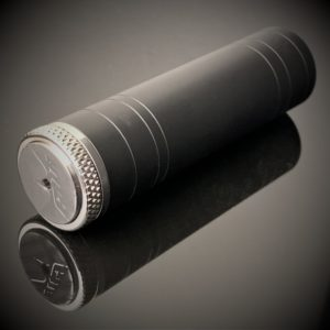 harpoon battery case 18650 black cerakote gus mod