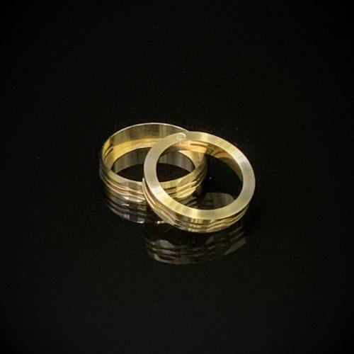 brass ring anello estetico four one five