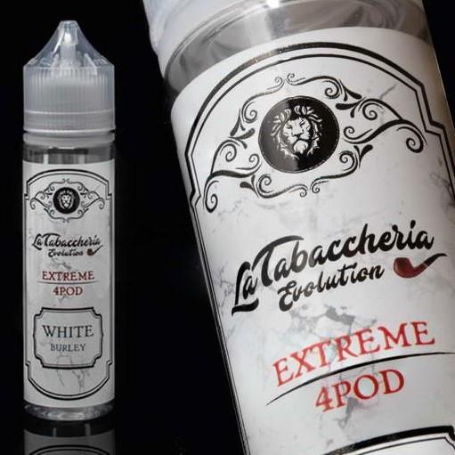 aroma 20ml white burley extreme 4 pod la tabaccheria