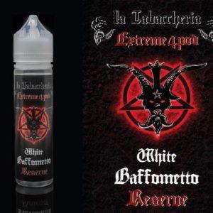 aroma 20ml white baffametto reserve la tabaccheria