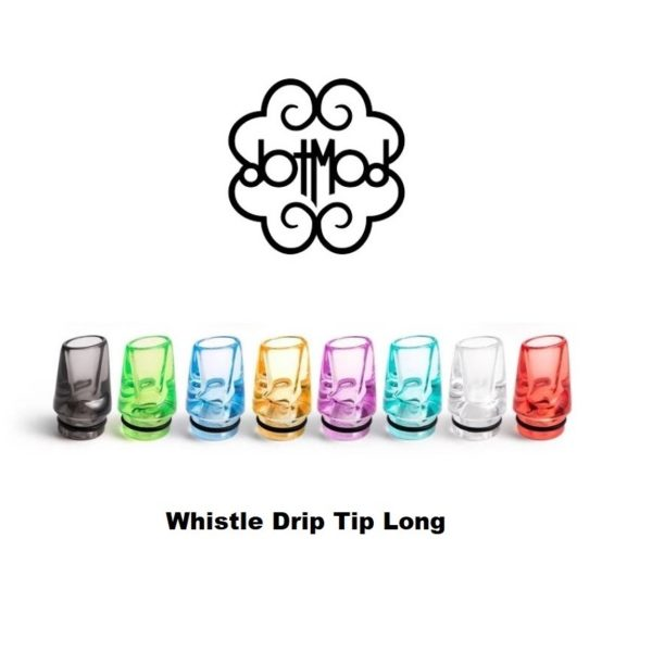 whistle drip tip long dotmod